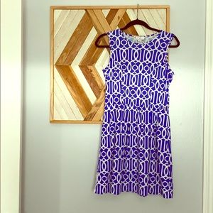 Jude Connally Geometric Print Dress